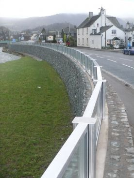 Keswick Glass wall