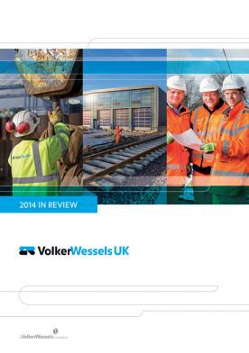 Cover 2014 In Review VolkerWessels UK